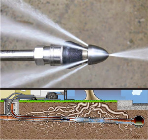Drain Cleaning With High Pressure Water Jetting